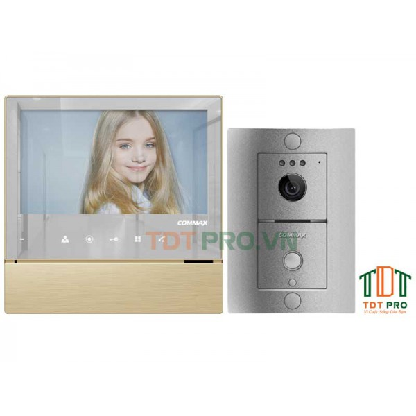 Bộ chuông cửa có hình Commax CDV-70H+DRC-4L