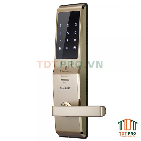 Khóa điện tử Samsung SHS-H705FBG Gold