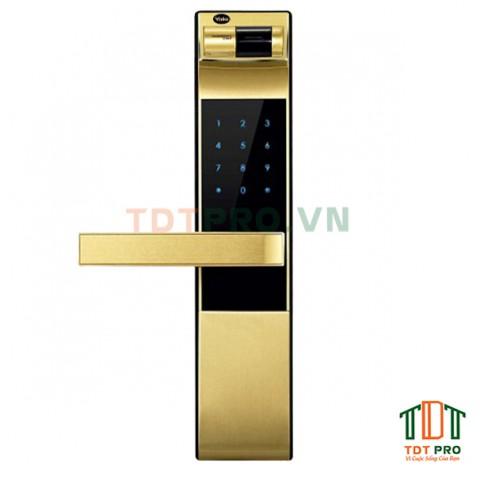 Khóa điện tử Yale YDM 4109 + ( Gold )