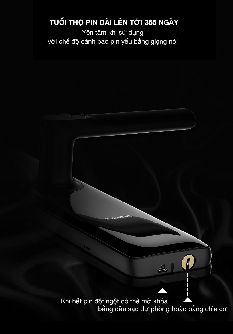 khoa kaadas s8 - Khóa điện tử Kaadas S8